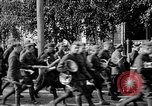 Image of Raising American flag at Red Cross hospital Archangel Russia, 1918, second 54 stock footage video 65675053037