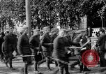 Image of Raising American flag at Red Cross hospital Archangel Russia, 1918, second 55 stock footage video 65675053037