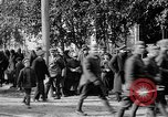 Image of Raising American flag at Red Cross hospital Archangel Russia, 1918, second 56 stock footage video 65675053037