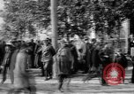 Image of Raising American flag at Red Cross hospital Archangel Russia, 1918, second 57 stock footage video 65675053037