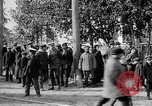 Image of Raising American flag at Red Cross hospital Archangel Russia, 1918, second 58 stock footage video 65675053037