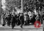 Image of Raising American flag at Red Cross hospital Archangel Russia, 1918, second 59 stock footage video 65675053037