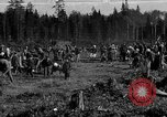 Image of Russians Archangel Russia, 1918, second 1 stock footage video 65675053040
