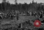 Image of Russians Archangel Russia, 1918, second 2 stock footage video 65675053040