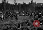 Image of Russians Archangel Russia, 1918, second 3 stock footage video 65675053040