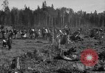 Image of Russians Archangel Russia, 1918, second 7 stock footage video 65675053040