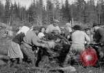 Image of Russians Archangel Russia, 1918, second 22 stock footage video 65675053040