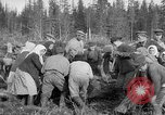 Image of Russians Archangel Russia, 1918, second 28 stock footage video 65675053040