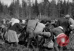 Image of Russians Archangel Russia, 1918, second 32 stock footage video 65675053040