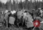 Image of Russians Archangel Russia, 1918, second 33 stock footage video 65675053040