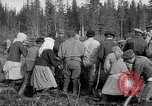Image of Russians Archangel Russia, 1918, second 34 stock footage video 65675053040