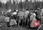 Image of Russians Archangel Russia, 1918, second 35 stock footage video 65675053040