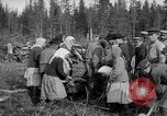 Image of Russians Archangel Russia, 1918, second 36 stock footage video 65675053040