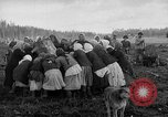 Image of Russians Archangel Russia, 1918, second 40 stock footage video 65675053040