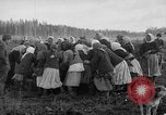 Image of Russians Archangel Russia, 1918, second 42 stock footage video 65675053040
