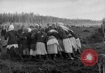Image of Russians Archangel Russia, 1918, second 46 stock footage video 65675053040