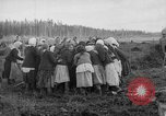 Image of Russians Archangel Russia, 1918, second 48 stock footage video 65675053040