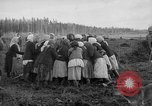 Image of Russians Archangel Russia, 1918, second 49 stock footage video 65675053040
