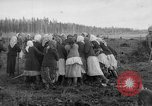 Image of Russians Archangel Russia, 1918, second 50 stock footage video 65675053040