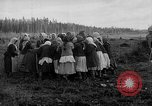 Image of Russians Archangel Russia, 1918, second 56 stock footage video 65675053040