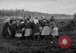 Image of Russians Archangel Russia, 1918, second 58 stock footage video 65675053040