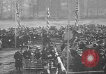 Image of unveiling statue of Jeanne d'Arc Washington DC Meridian Hill Park USA, 1922, second 7 stock footage video 65675053057