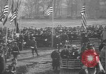 Image of unveiling statue of Jeanne d'Arc Washington DC Meridian Hill Park USA, 1922, second 9 stock footage video 65675053057