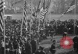 Image of unveiling statue of Jeanne d'Arc Washington DC Meridian Hill Park USA, 1922, second 12 stock footage video 65675053057