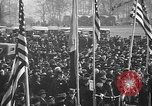 Image of unveiling statue of Jeanne d'Arc Washington DC Meridian Hill Park USA, 1922, second 16 stock footage video 65675053057