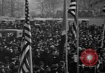Image of unveiling statue of Jeanne d'Arc Washington DC Meridian Hill Park USA, 1922, second 17 stock footage video 65675053057