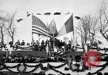 Image of unveiling statue of Jeanne d'Arc Washington DC Meridian Hill Park USA, 1922, second 42 stock footage video 65675053057