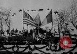 Image of unveiling statue of Jeanne d'Arc Washington DC Meridian Hill Park USA, 1922, second 43 stock footage video 65675053057
