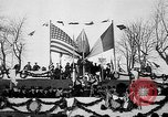 Image of unveiling statue of Jeanne d'Arc Washington DC Meridian Hill Park USA, 1922, second 44 stock footage video 65675053057