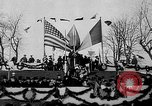 Image of unveiling statue of Jeanne d'Arc Washington DC Meridian Hill Park USA, 1922, second 45 stock footage video 65675053057