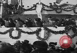 Image of unveiling statue of Jeanne d'Arc Washington DC Meridian Hill Park USA, 1922, second 57 stock footage video 65675053057