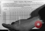 Image of Meat ration stamps in World War 2 United States USA, 1942, second 51 stock footage video 65675053060