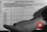 Image of Meat ration stamps in World War 2 United States USA, 1942, second 52 stock footage video 65675053060