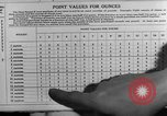 Image of Meat ration stamps in World War 2 United States USA, 1942, second 55 stock footage video 65675053060