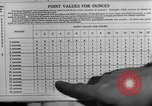 Image of Meat ration stamps in World War 2 United States USA, 1942, second 56 stock footage video 65675053060