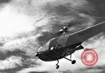 Image of Bell 30 helicopter spraying pesticides United States USA, 1942, second 8 stock footage video 65675053061