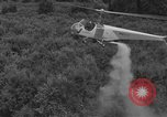 Image of Bell 30 helicopter spraying pesticides United States USA, 1942, second 21 stock footage video 65675053061