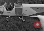 Image of Bell 30 helicopter spraying pesticides United States USA, 1942, second 29 stock footage video 65675053061