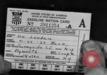 Image of gas rations and World War 2 rationing United States USA, 1942, second 4 stock footage video 65675053063