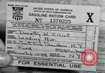 Image of gas rations and World War 2 rationing United States USA, 1942, second 18 stock footage video 65675053063