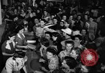 Image of women buying silk stockings during war ration United States USA, 1942, second 18 stock footage video 65675053064