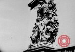 Image of German troops decorated Paris France, 1940, second 1 stock footage video 65675053121