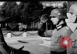 Image of German troops decorated Paris France, 1940, second 27 stock footage video 65675053121