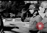 Image of German troops decorated Paris France, 1940, second 28 stock footage video 65675053121