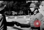 Image of German troops decorated Paris France, 1940, second 29 stock footage video 65675053121