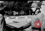 Image of German troops decorated Paris France, 1940, second 30 stock footage video 65675053121